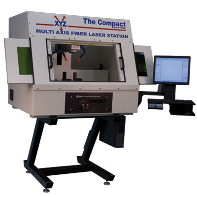 A Multi Axis Fiber Laser Station
