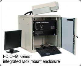 FC OEM Fiber Laser System Integrated Rack Mount