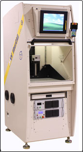 C02 3 Axis Gavo laser system