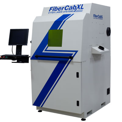 The FiberCab XL (shown with optional Industrial Grade Computer) . Click on image for additional information.