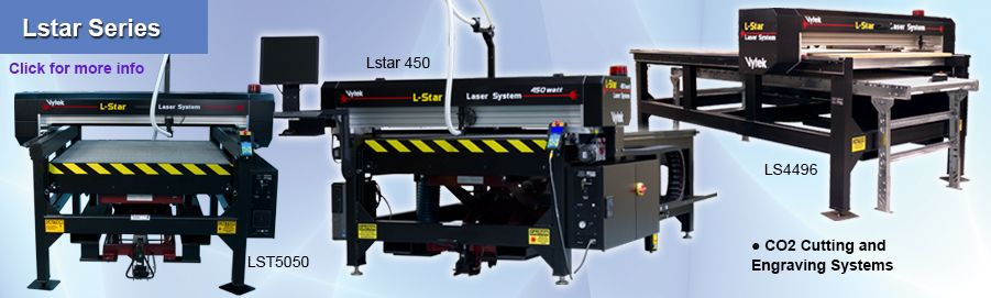 Lstar Series of CO2 Cutting and Engrving Lasers