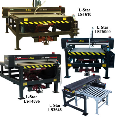 The L-Star Series of Laser Cutting and Engraving Systems